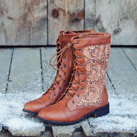 The Harper Lace Boots