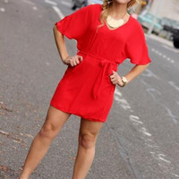 Ignite The Night Dress In Poppy - Bliss On State