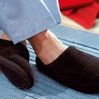 Outlast Memory Foam Slippers for Men @ Sharper Image