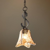 Uttermost Vetraio Collection Mini Pendant Chandelier - #18311 | LampsPlus.com
