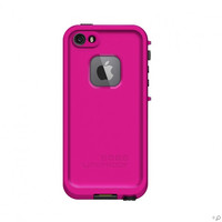 The Magenta & Black LifeProof FRE Case for the iPhone 5s
