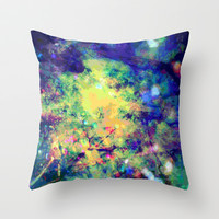 light from above Throw Pillow by Sandy Moulder
