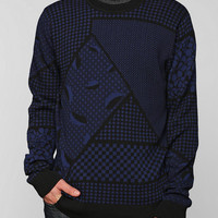 The Narrows Geo Sweater  - Urban Outfitters
