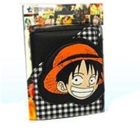 ONE PIECE WALLET LUFFY HEAD