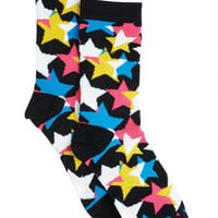 Overlapping Star Socks