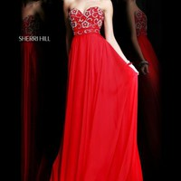 Sherri Hill 8545 at Prom Dress Shop