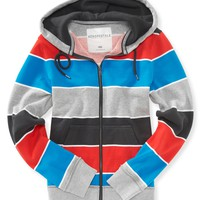 Power Stripe Full-Zip Hoodie