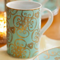 Rosanna Arabesque Mug Set of 4