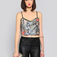 DISCO MYSTIC CROP TOP