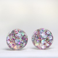 BRIKA Exclusive Pink Globe Earrings | BRIKA - A Well-Crafted Life