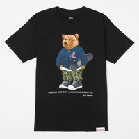Grizzly Griptape by Diamond Supply Co. Tee in Black