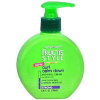 Fructis Style Curl Calm Down Anti-Frizz Cream, Strong Hold