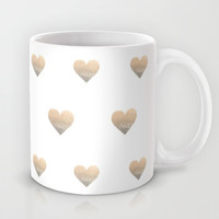 *** GATSBY GOLD HEART *** Mug .... your coffee tastes two times better with this cute mug !!!