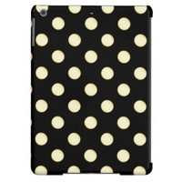 1 Dot Pattern Black - iPad Air Case