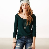 AE REAL SOFT MISTLETOE SWEATER