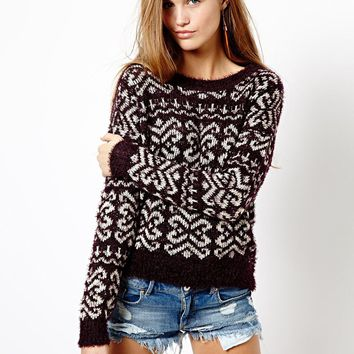 Only Patterned Knit