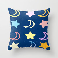 Sleep Tight Throw Pillow by DuckyB (Brandi)