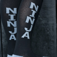 Socks by Sock Dreams » .Socks » Knee Highs » Ninja Knee Highs