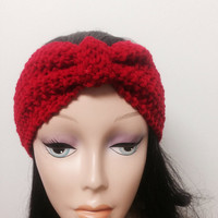 Turban Headband Knit Head wrap Knit ear warmer Earwarmer CHOOSE COLOR
