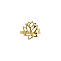 Lotus Knuckle Ring | VidaKush