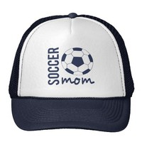 Zazzle Soccer Mom Sports Hat