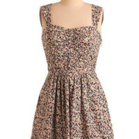 If, And, or Bud Dress | Mod Retro Vintage Printed Dresses | ModCloth.com