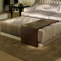 Pouf / coffee table Art Deco Milano by Casali