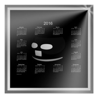 Smile Everyday 2016 Wall Calendar Posters
