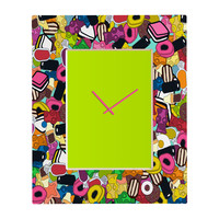 Sharon Turner Sugar Sugar Rectangular Clock
