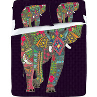 Sharon Turner Painted Elephant Sheet Set