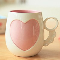 Romantic Love Flowers Coffee Mug - Coffee Mugs for Sale ::INFPASS