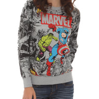 Marvel Avengers Reversible Girls Pullover Top