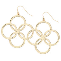 Women's Clover Chandelier Earrings