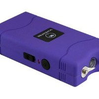 VIPERTEK VTS-880 - 15,000,000 V Mini Stun Gun - Rechargeable with LED Flashlight (Purple)