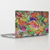 TROPICAL LOVE Laptop & iPad Skin by Nika