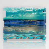 FANTA-SEA IN BLUE iPad Case by catspaws