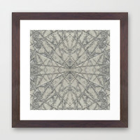 SnowFlake #2 Framed Art Print by Project M
