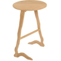 Wandering Crane Side Table - White Oak | Ethan Abramson | HORNE