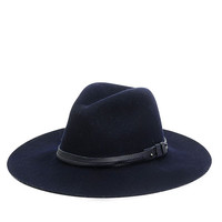 Rag & Bone - Wide Brim Fedora -, Navy