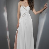 Shimmer by Bari Jay 59837 Sweetheart Gown