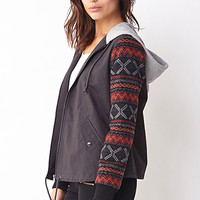 Rustic Hooded Jacket