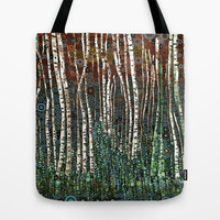 :: Wild in the Woods :: Tote Bag by GaleStorm Artworks