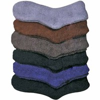 Dark Colors Assorted Toasty Fuzzy 6 Pack Socks