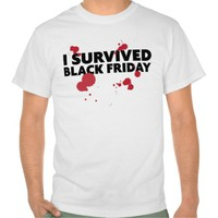 Hilarious 'I Survived Black Friday' T-Shirt