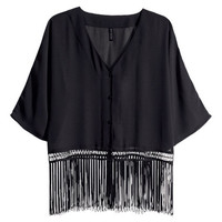 Chiffon Blouse - from H&M