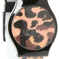 The Slim Watch in Cheetah