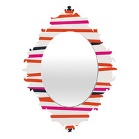 CREW STRIPE WARM baroque mirror for DENY Designs