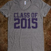 Awesome Class of 2015 Varsity Lettering T-Shirt