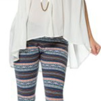 PACT FAIR ISLE LEGGINGS