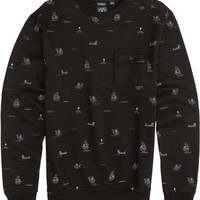 VOLCOM OLIVER CREW NECK FLEECE